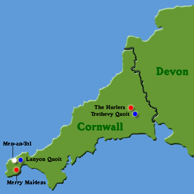 Map Of England Cornwall.Stones In Fields Map Of England Cornwall
